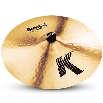 """18"""" K Dark Medium Thin Crash Cymbal"""