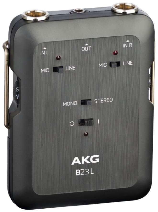 Battery-Operated Phantom Power Supply for AKG MicroMic Series