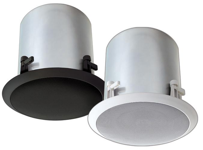 Bogen Communications HFCS1B  6 inch High-Fidelity 75 Watt Ceiling Speaker, Black HFCS1B