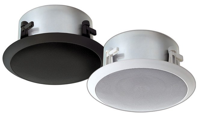 6 inch High-Fidelity 75 Watt Ceiling Speaker, Black