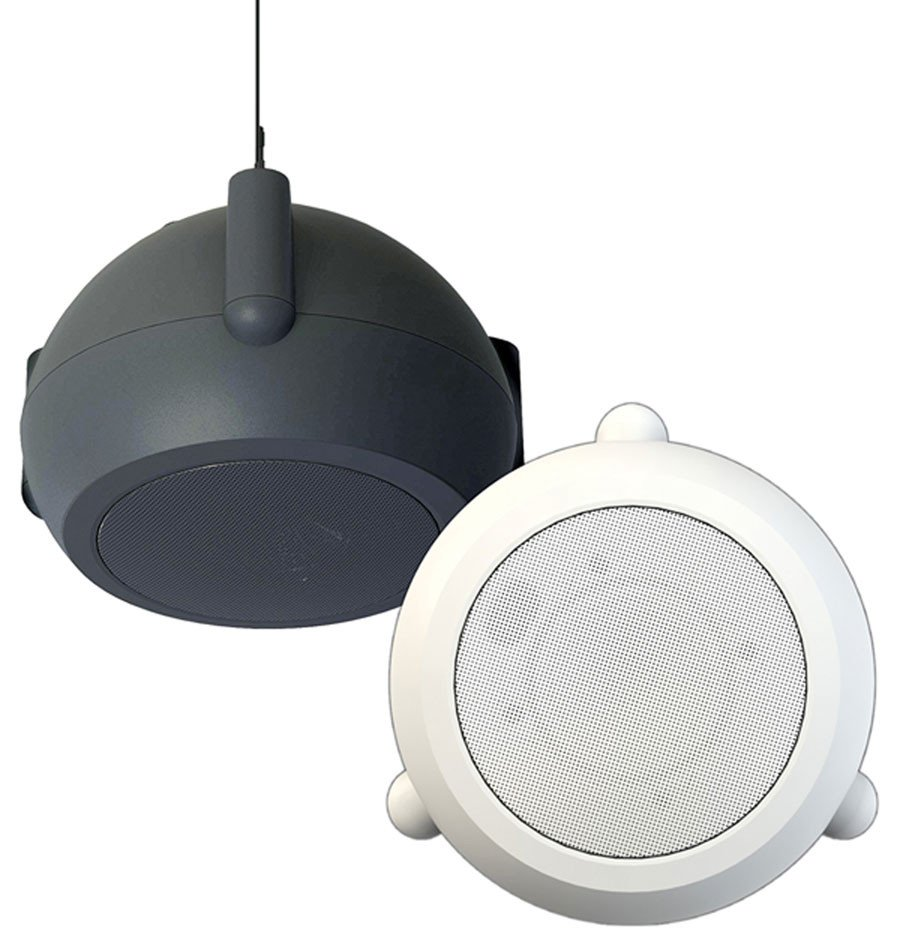 4.5 inch 50 Watt Mini Pendant Speaker, Black