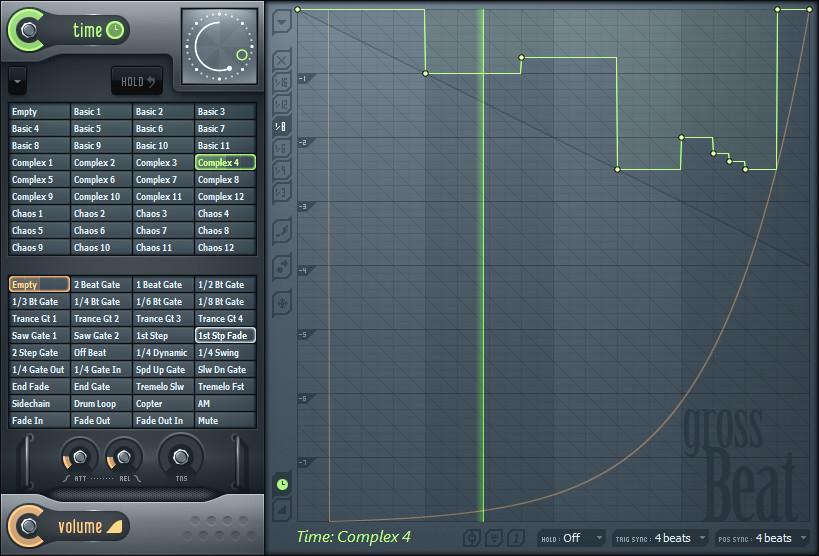 Time/Volume Manipulation Software Effect