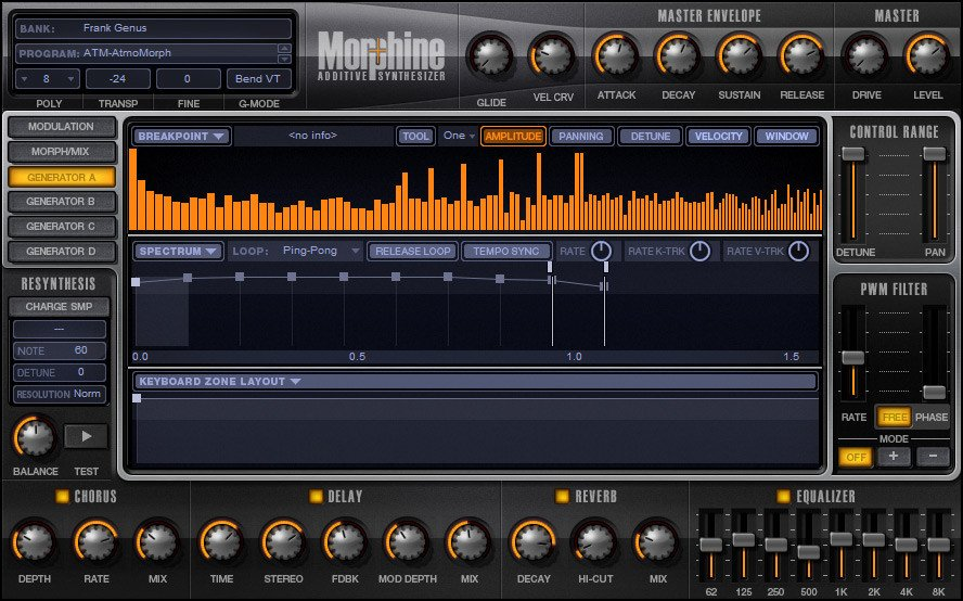 Additive Synthsizer Software Virtual Instrument