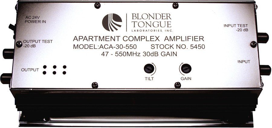 550 Hz Apartment Complex RF Amplifier