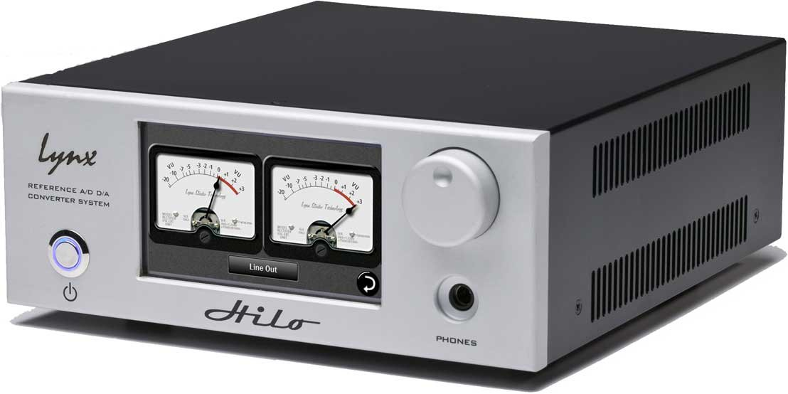 Reference A/D D/A Converter System with Thunderbolt in Silver