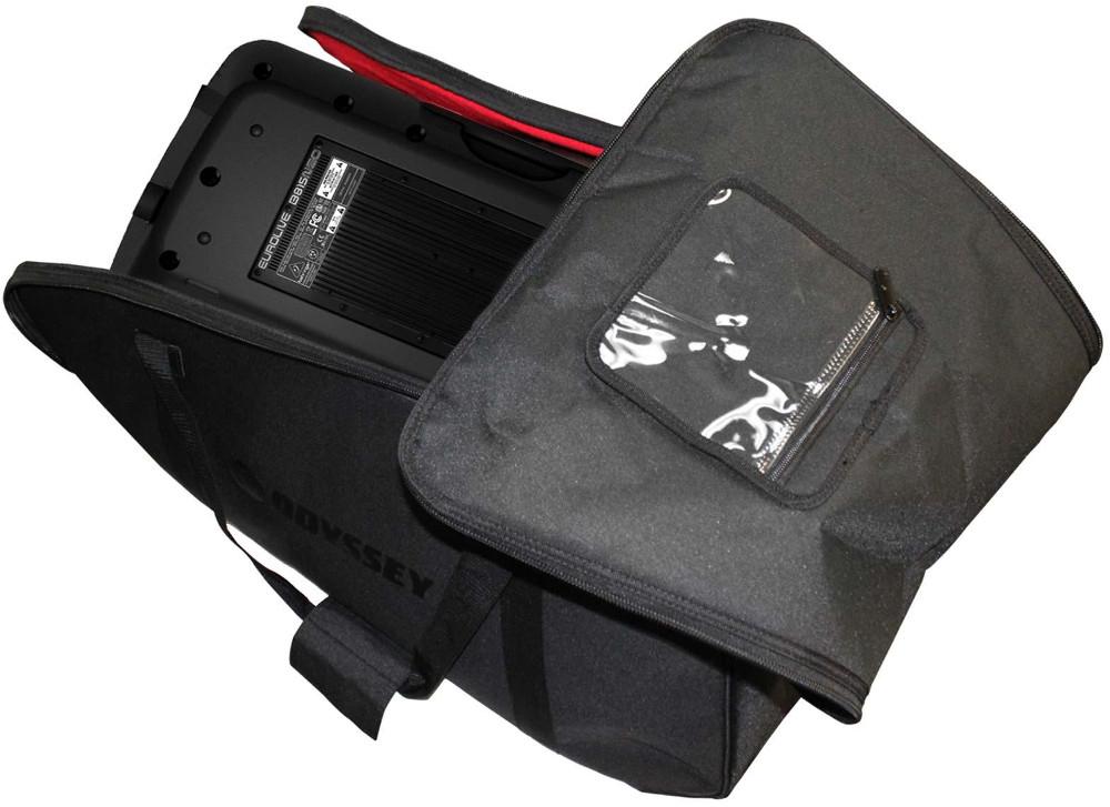 """Redline Series Universal Speaker Bag for Larger Sized 15"""" Molded Speakers"""