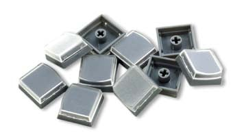 10-Pack of Keycaps in Gray