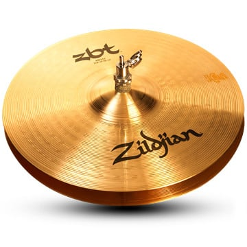 "Pair of 14"" ZBT Hi-Hats"