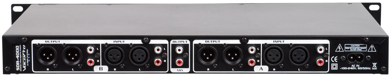VocoPro SDR-4000 Dual Digital USB/SD Audio Recorder SDR-4000