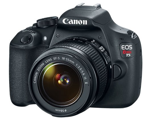 DSLR Camera with 18-55 IS II Lens