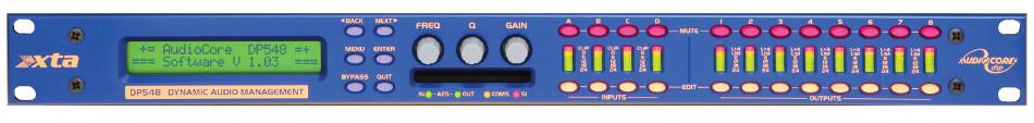 4x8 Dyanmic Audio Management System