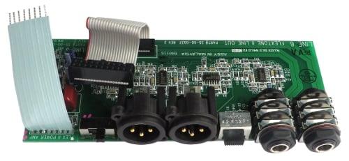 XLR Output PCB for Flextone II