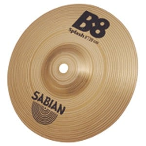 "6""  B8 Splash Cymbal"