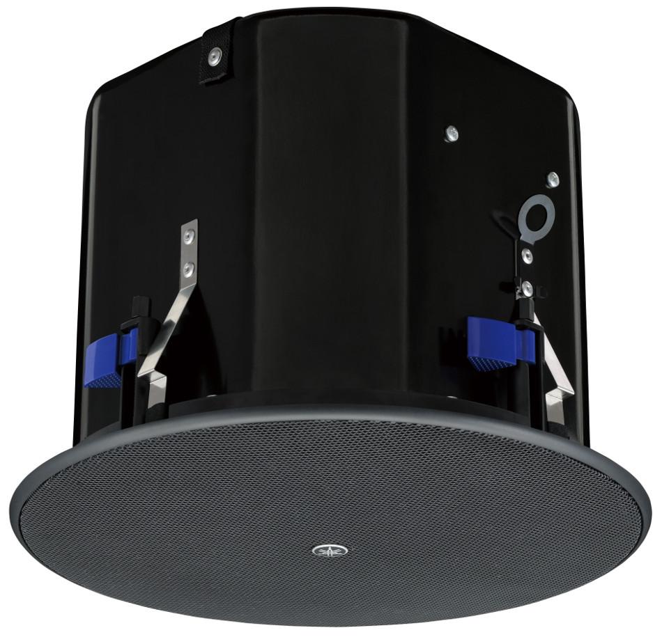 """8"""" 8 Ohm/70V Ceiling Speaker in Black"""