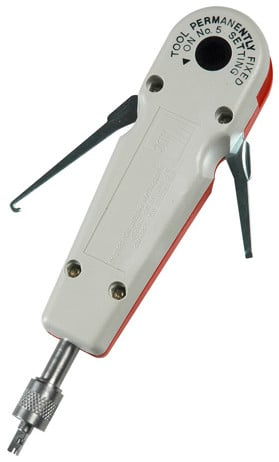 Punchdown Tool for QPC IV ProPatch Panels