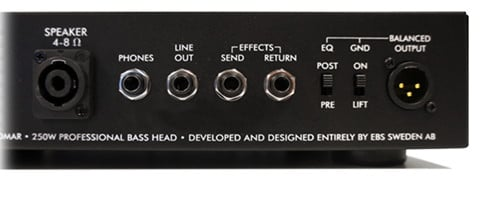 250W Solid-State Bass Amplifier Head