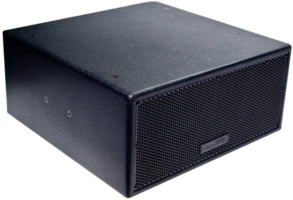 "Dual 8"" Compact Installation Subwoofer in Black"