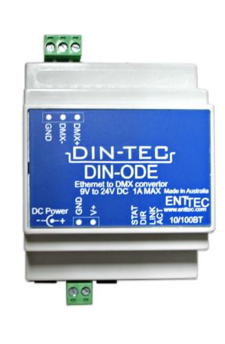 DIN-ODE POE Ethernet Gateway