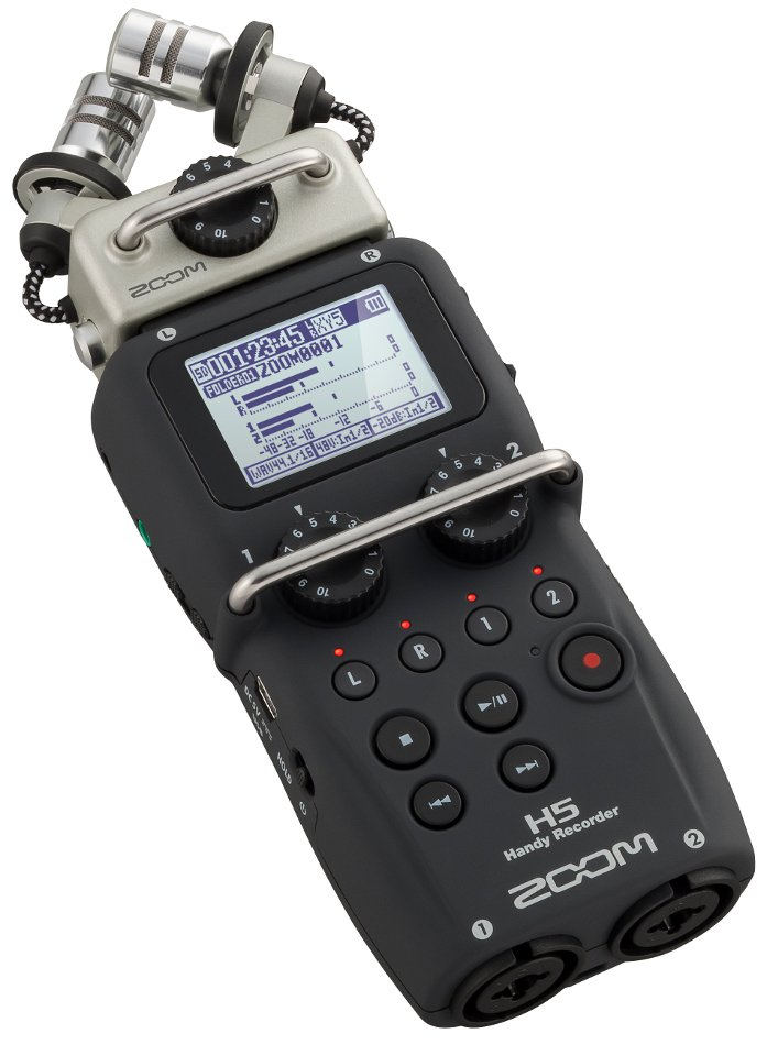 Zoom H5 4-track Portable Audio Recorder With Interchangeable