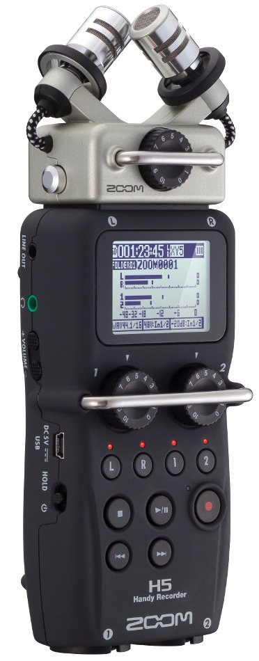 4 Channel Handheld Recorder with X/Y Capsule