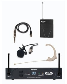 StagePass Wireless Bodypack Lavalier Microphone System