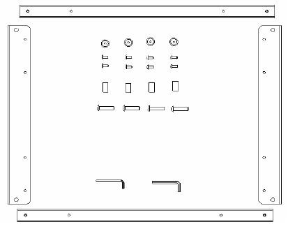 P Series Custom Flat Panel Mount Interface Bracket