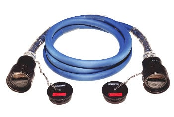 C Series Multiline 48-Channel 300 foot Cable Assembly with W4 MASS Connectors