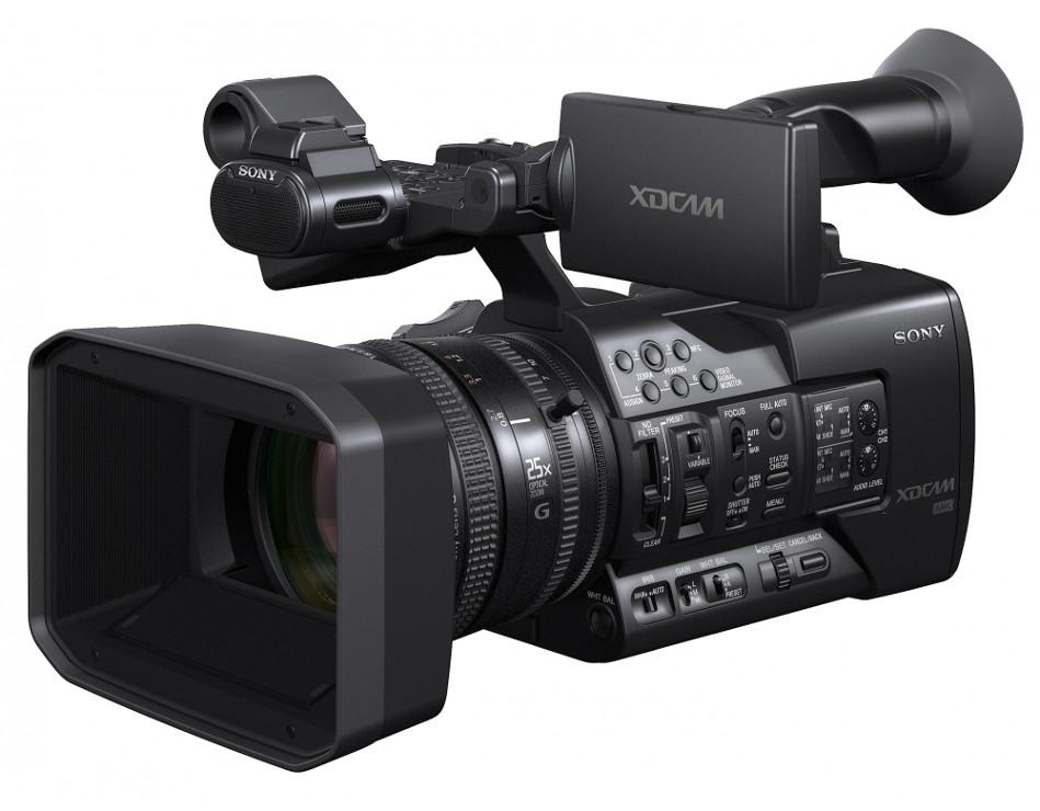 """XDCAM 3x 1/3"""" Exmor CMOS HD XAVC Camcorder"""