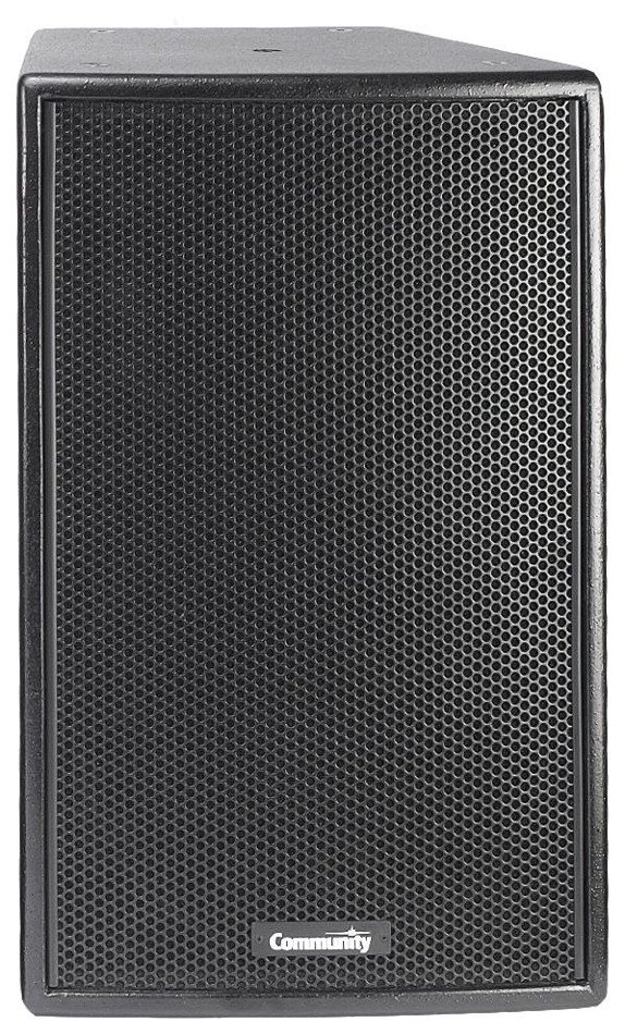 "12"" Veris 2 500 Watt 8 ohm Two-Way Full-Range Loudspeaker in Black with 60° x 40° Dispersion"