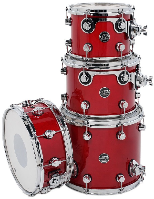 "Performance Series Tom Pack 4 in Lacquer Finish: 10"", 12"", 14"" Toms, 5.5x14"" Snare Drum"
