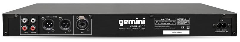 1U Rackmount Single CD/MP3/USB Player
