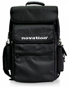 "Soft Carry Bag for Novation 61 Key Controllers and 15"" Laptops, Black"