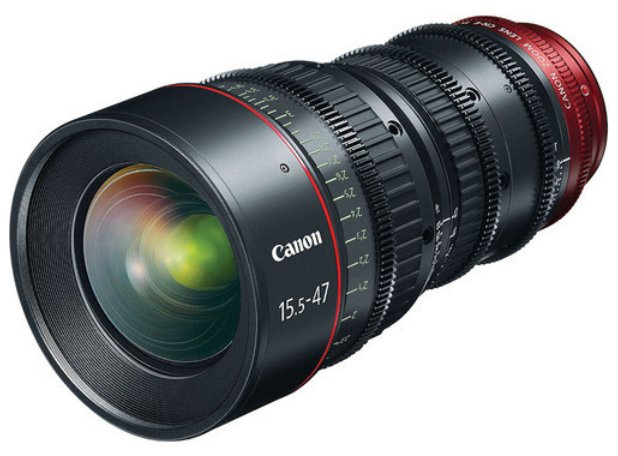Canon 7622B002 CN-E15.5-47mm T2.8 L S Cinema Zoom Lens 7622B002