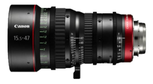 CN-E15.5-47mm T2.8 L SP Cinema Zoom Lens