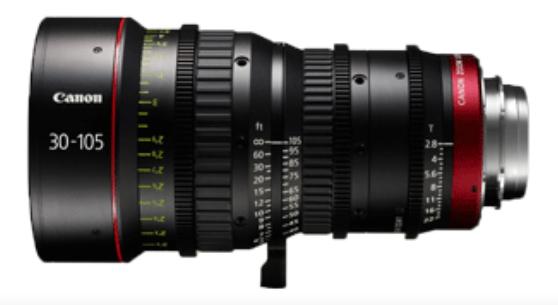 CN-E30-105mm T2.8 L SP Cinema Zoom Lens
