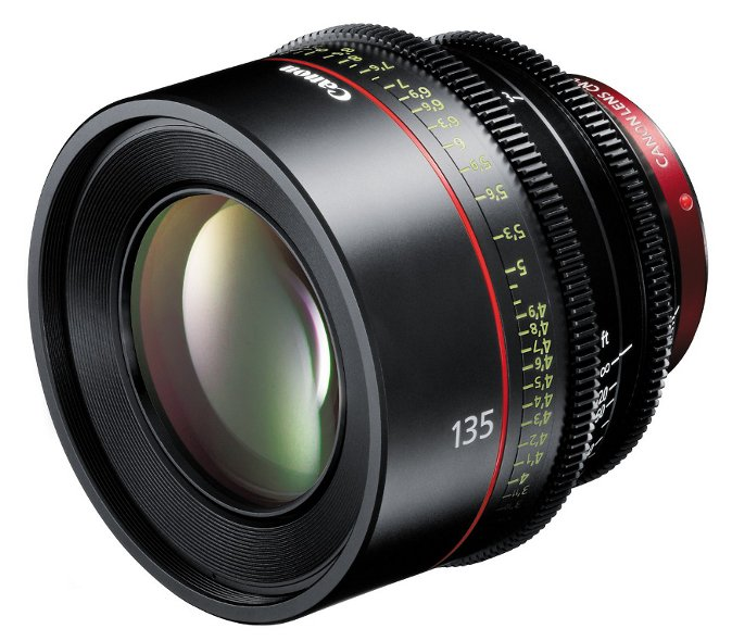 Cinema Prime EF CN-E 135mm T2.2 L F Lens