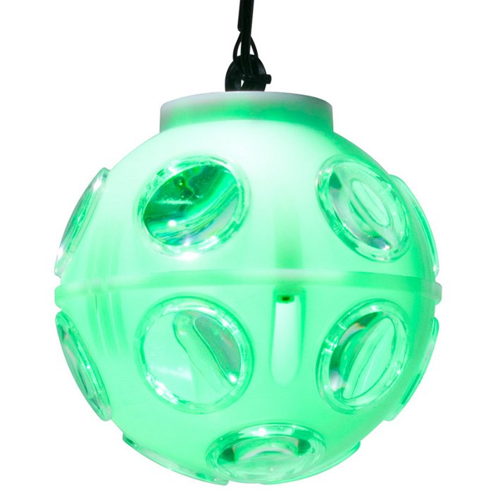 "2 x 3W 3-in-1 RGB ""TRI"" LED Rotating Mirror Ball"