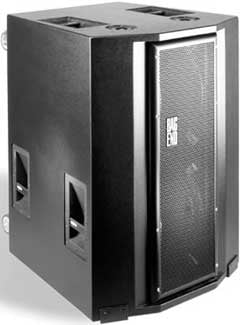 "Powered 4 x 18"" Subwoofer Speaker, Touring / Road Model"