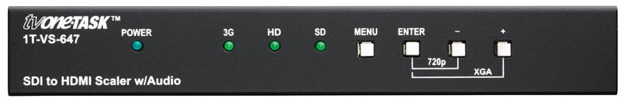 TV One 1T-VS-647  SDI to HDMI Scaler with Audio 1T-VS-647