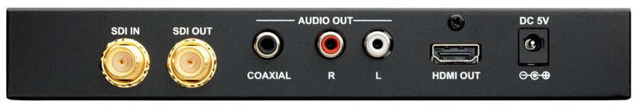 SDI to HDMI Scaler with Audio