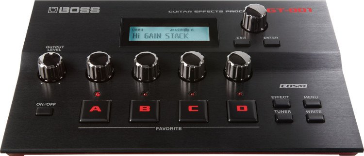 Tabletop Guitar Effects Processor