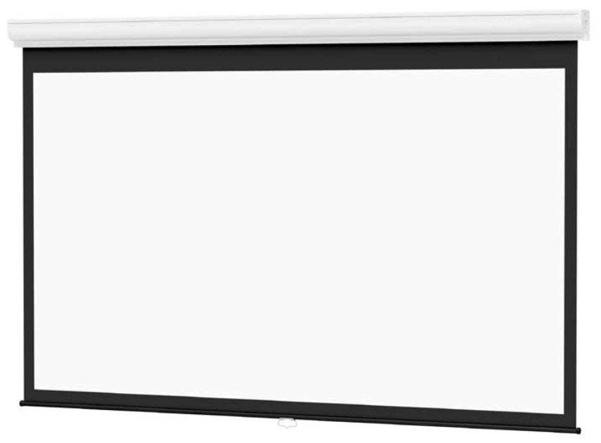 "Designer Contour 16:9 77"" Diagonal Manual Matte White Screen with CSR"