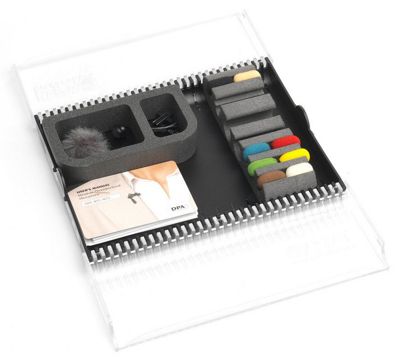 DPA Microphones DAK4071-E Accessory Kit for Miniature Microphone for ENG/EFP Applications DAK4071-E