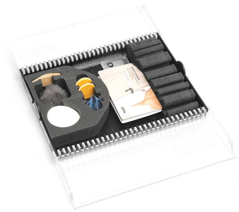 Accessory Kit for Miniature Microphone in Film Applications