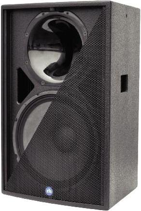 "15"" 700 Watt Program @ 8 ohm 2-Way Passive Loudspeaker, Weather Resistant Treatment, Black"