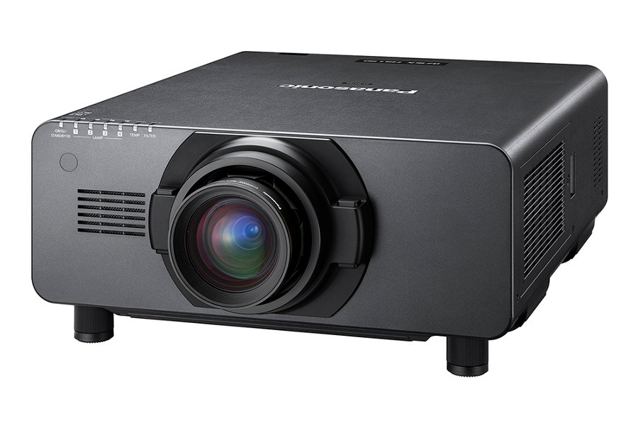 Panasonic PT-DZ16KU 16,000 Lumens 1080p 3-Chip DLP Large Venue Projector - Lens Not Included PTDZ16KU