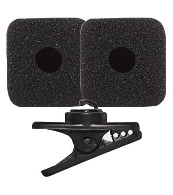 Replacement Clip/Windscreen Kit for SM31FH Headset Microphone