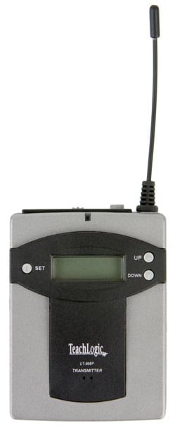 96 Channel UHF Bodypack Transmitter for use with TeachLogic Wireless Systems