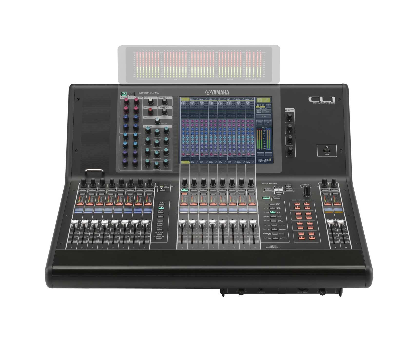48 Mono + 8 Stereo Input Digital Mixer
