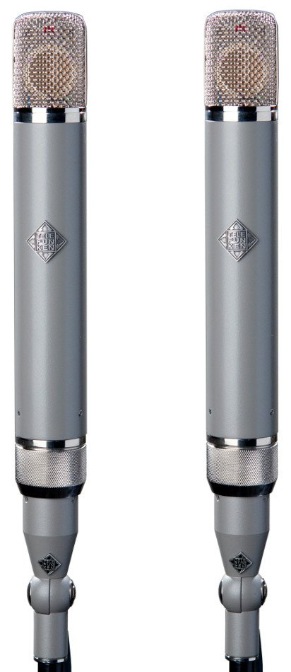 Multi-Pattern Matched Pair Tube Condenser Microphone Set